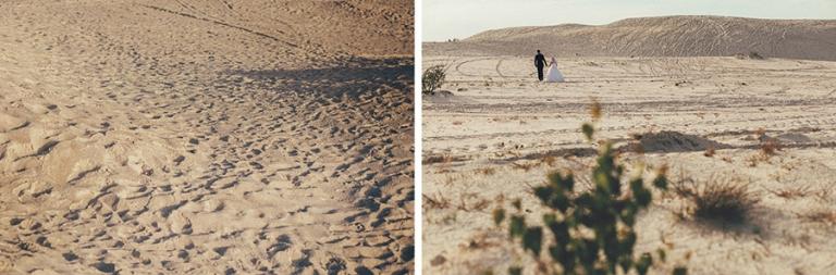 sesja ślubna na piaskach, fotograf wrocław